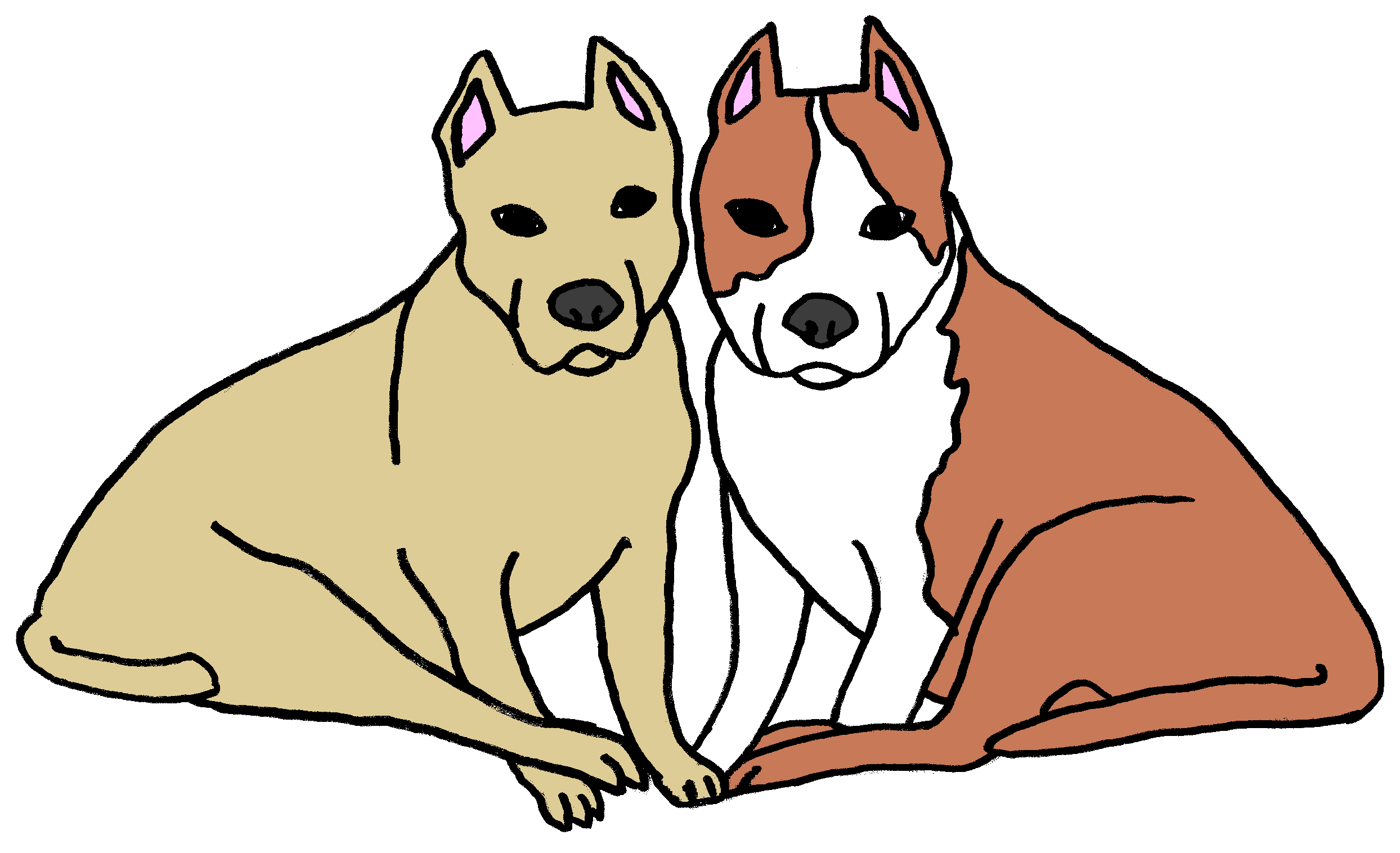 Dogs free download best. Pet clipart two dog