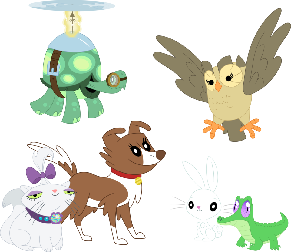 The six by porygon. Pet clipart wonder pets