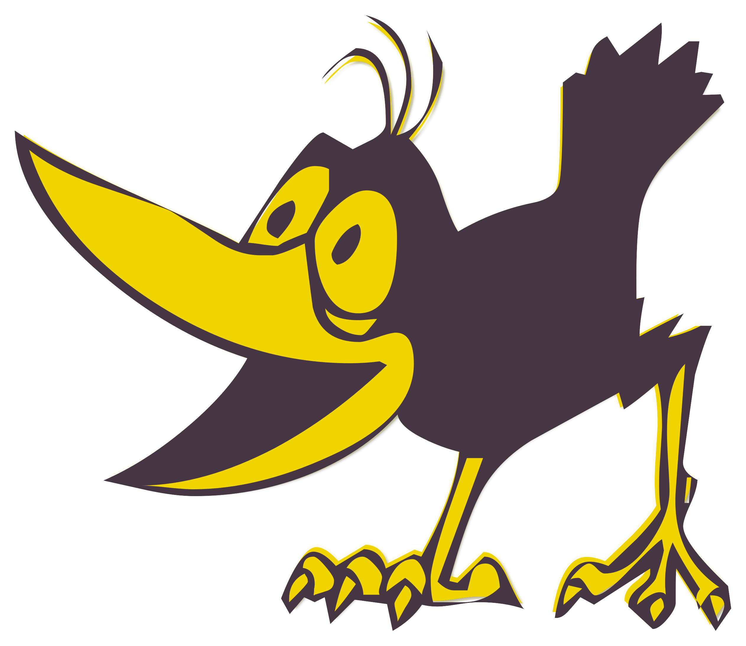 Pet clipart yellow bird. Free photo funny graphic