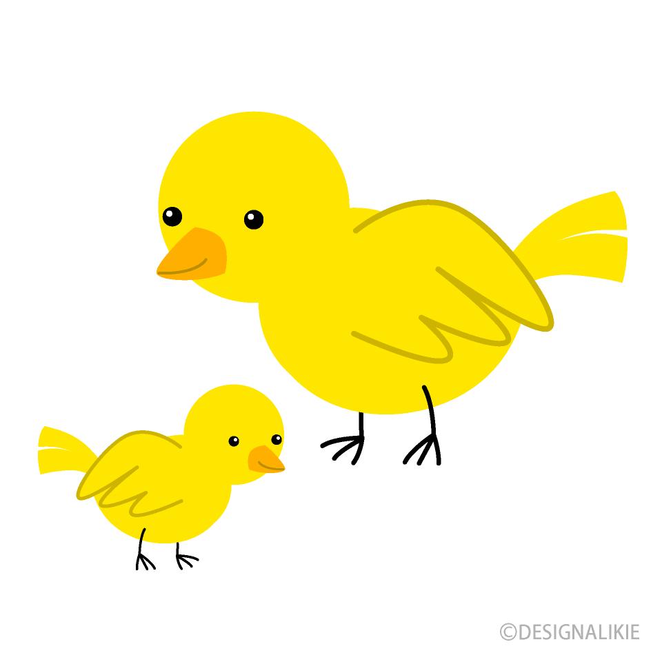Pet clipart yellow bird. Parent and child free