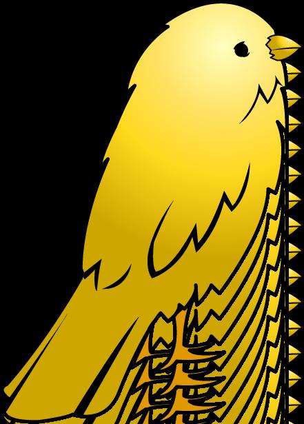 Pet clipart yellow bird. Free download best