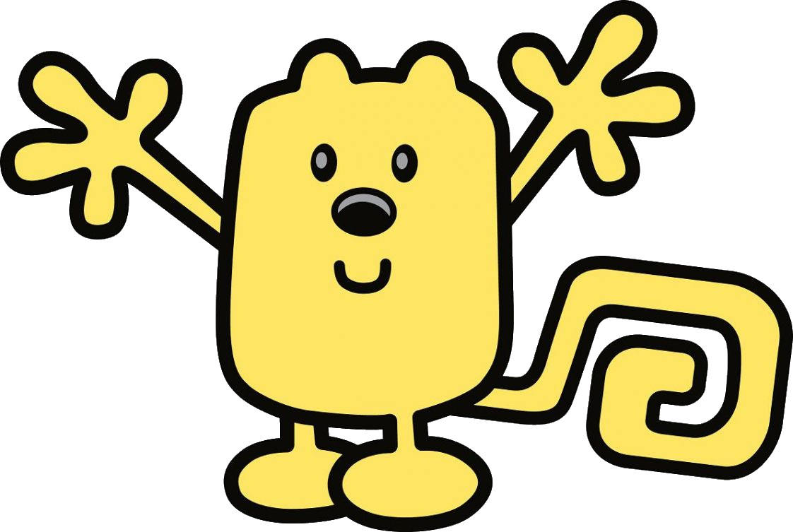 Wubbzy coconut fred and. Wow clipart happy time