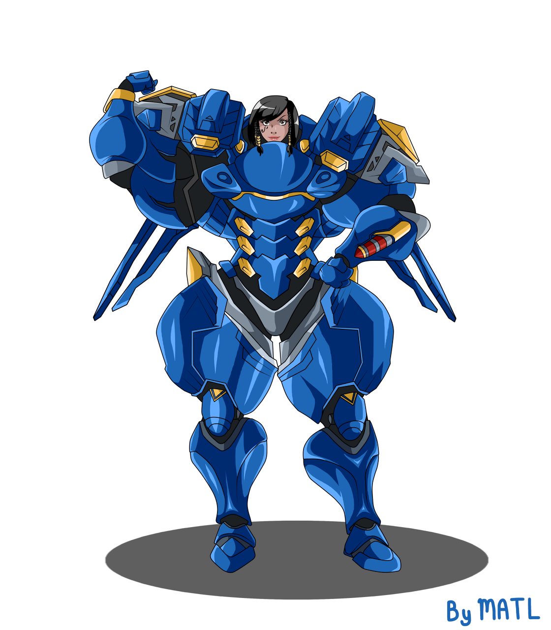 Commission by matl fur. Pharah overwatch png