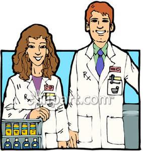 Helpful . Pharmacist clipart