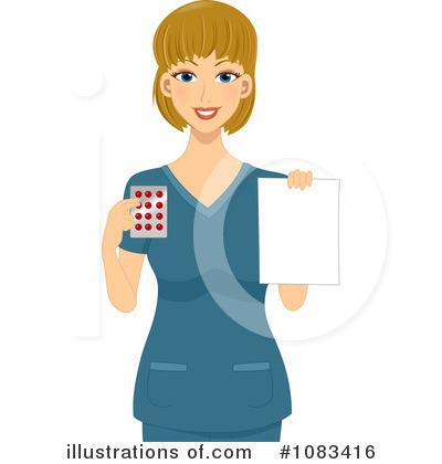 Illustration by bnp design. Pharmacist clipart