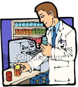 Pharmacy clipart. Staff