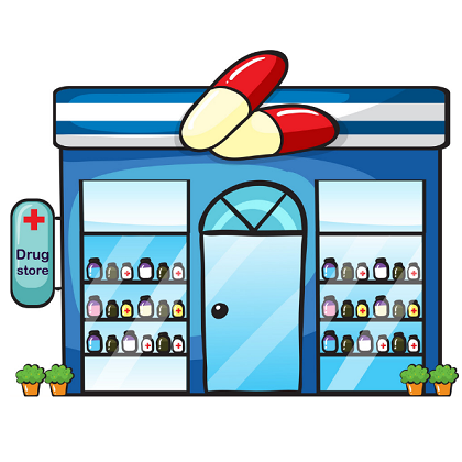 Craft ideas clip art. Pharmacy clipart drug store