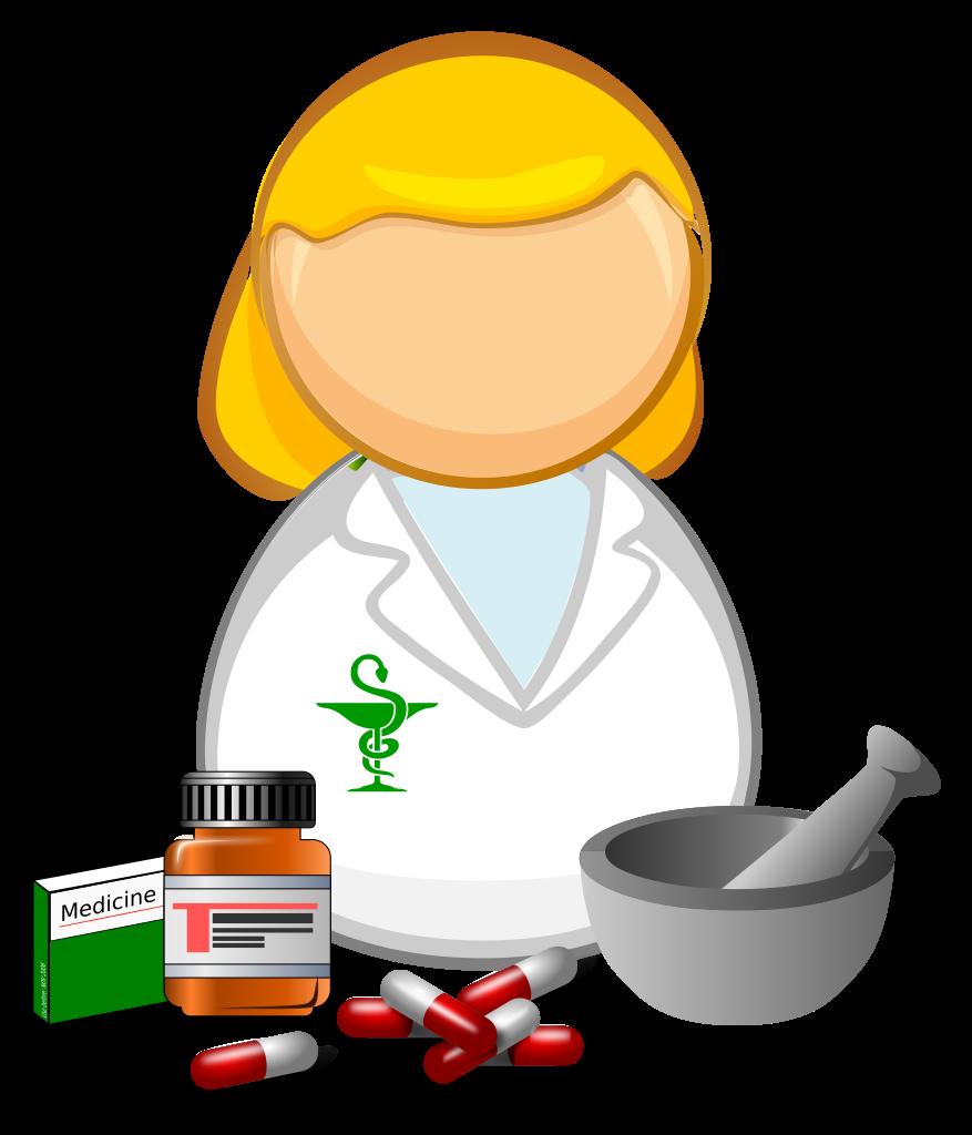 Pharmacist clipart legal drug. File apothecary clip art