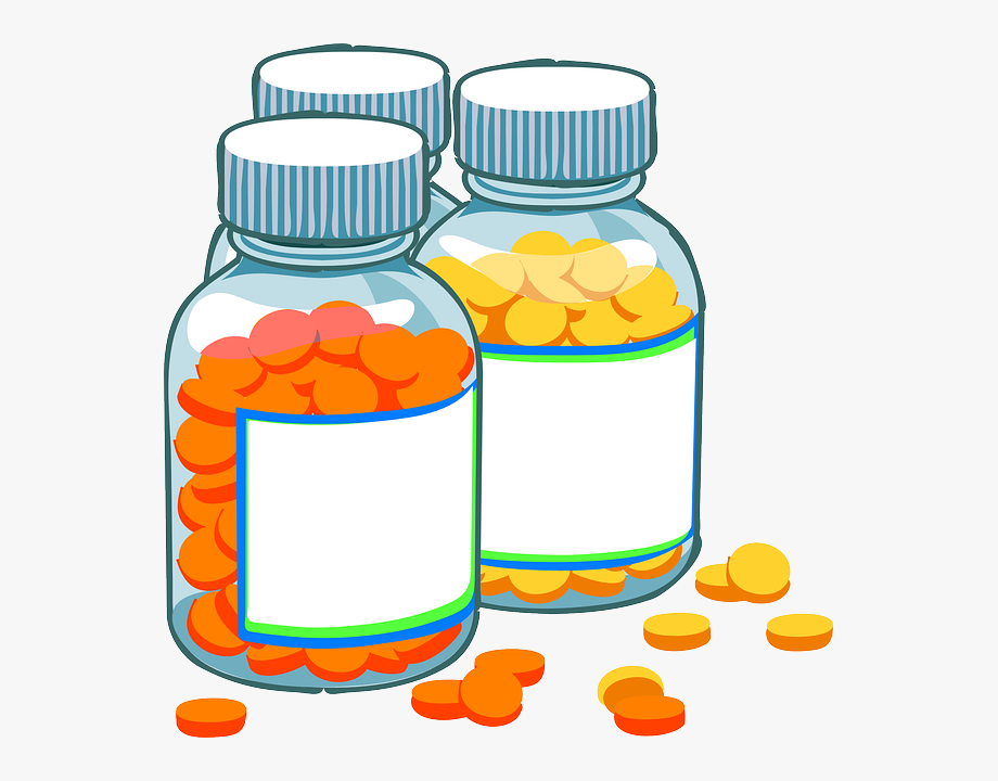 Pills clipart pharmacist. Medicine bottles medical capsules