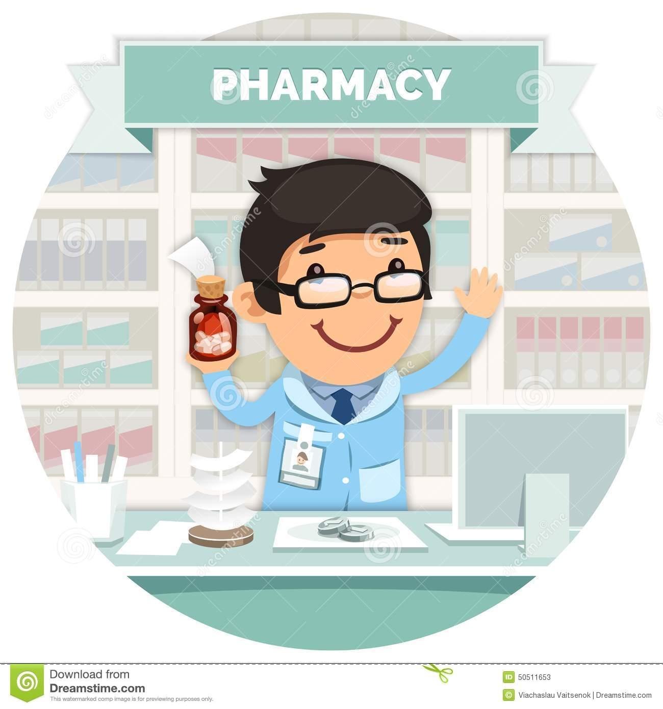 Awesome pharmacist design digital. Pharmacy clipart