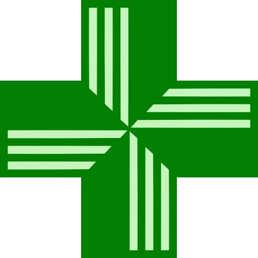 Green cross image ipharmd. Pharmacy clipart