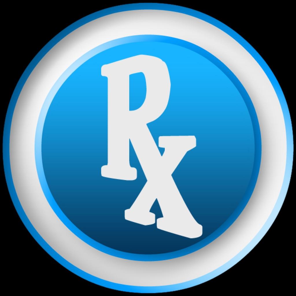 Pharmacy clipart.  d white rx