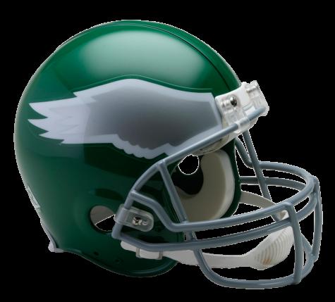 Vsr authentic throwback . Philadelphia eagles helmet png