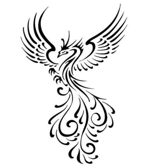 Phoenix clipart. Symbol free cliparts that