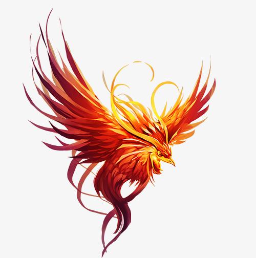 Phoenix clipart. Suzaku fly png image