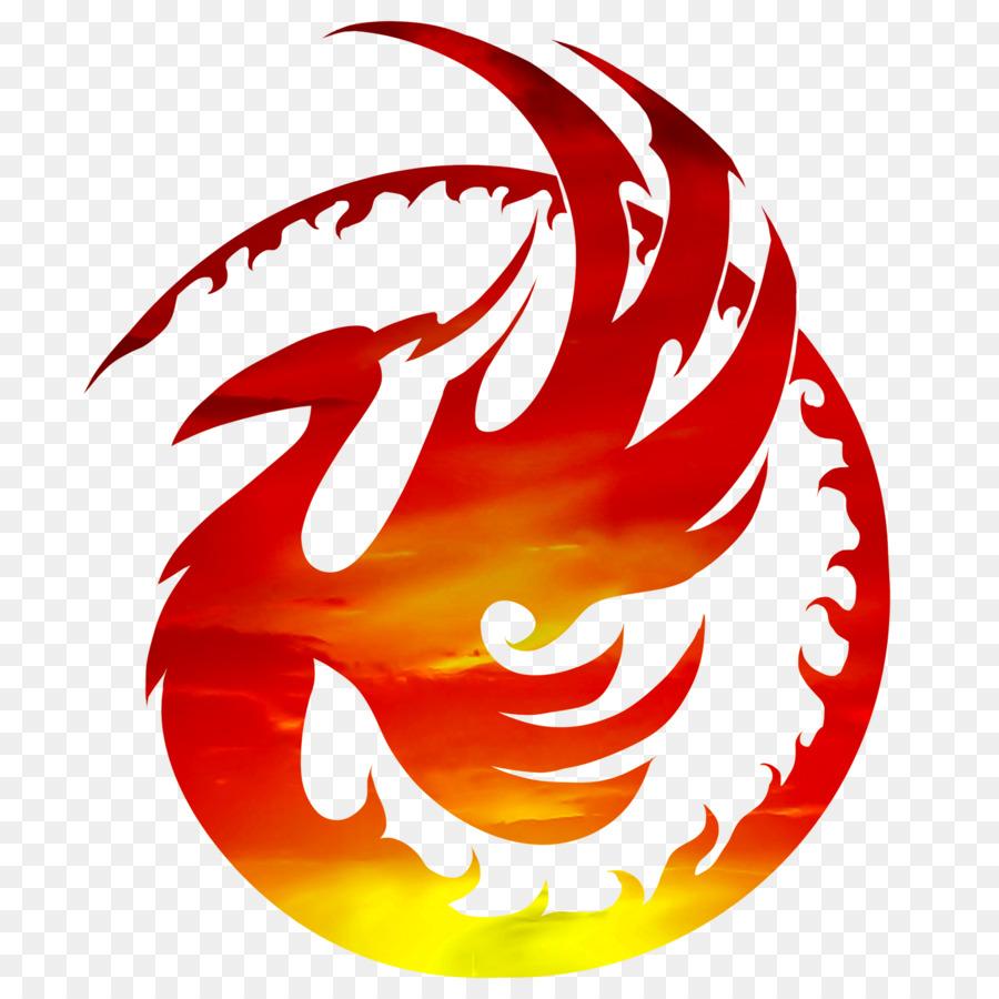 Logo transparent clip art. Phoenix clipart circle