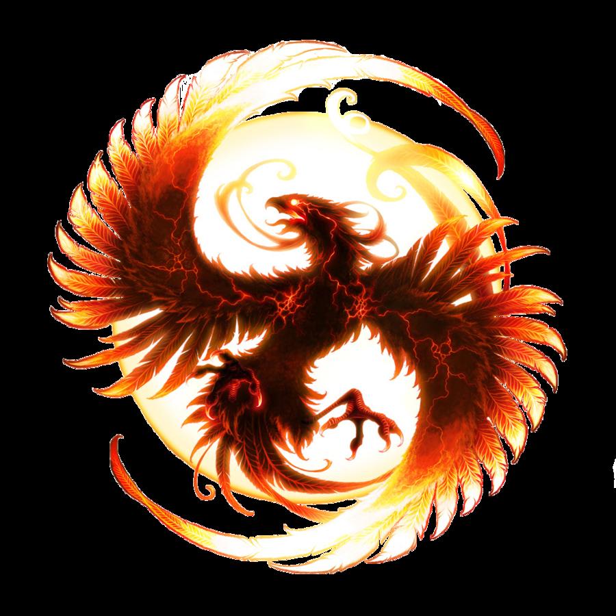 Phoenix clipart circle. Logo transparent transparentpng