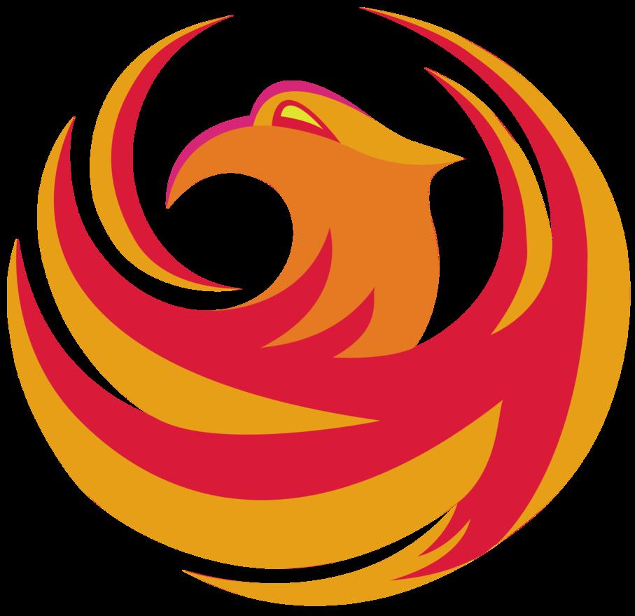City of logo philomeena. Phoenix clipart emblem