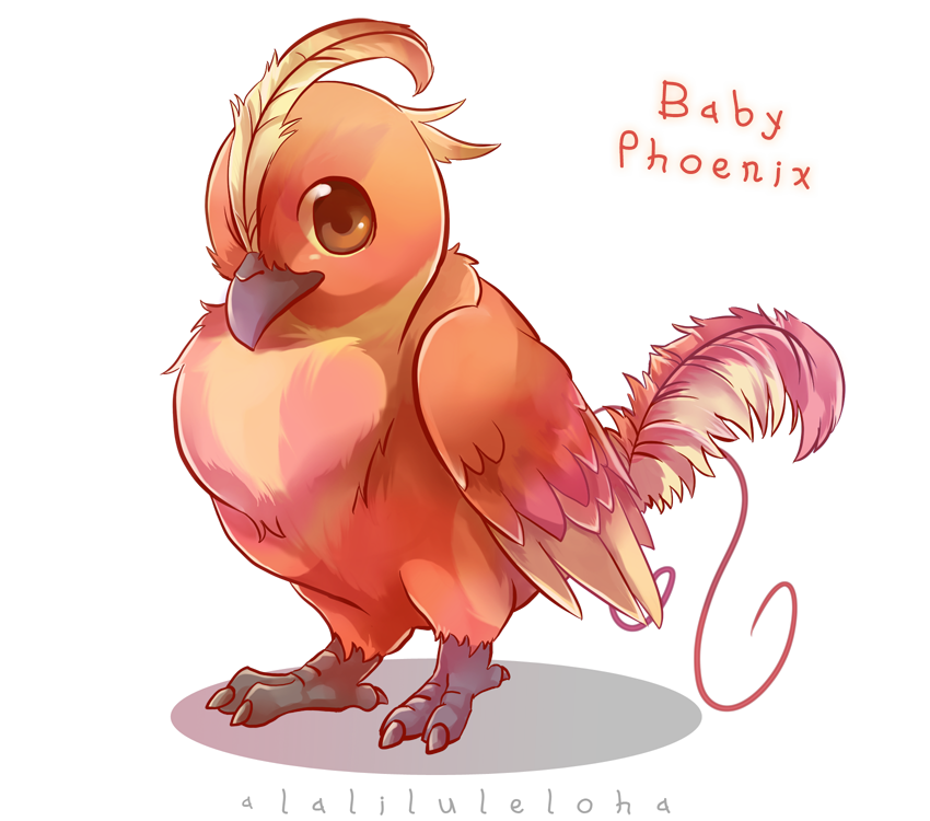 collection of cute. Phoenix clipart fawkes