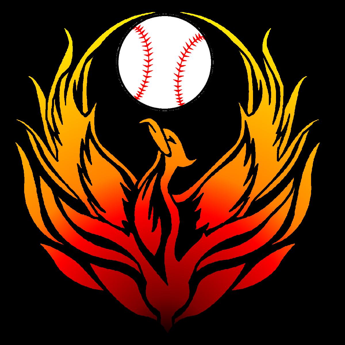 Phoenix clipart feminine. Baseball pinterest