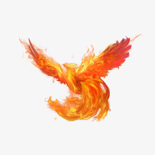 Phoenix clipart flaming. Bath fire flame phenix