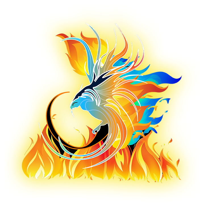 Phoenix flaming
