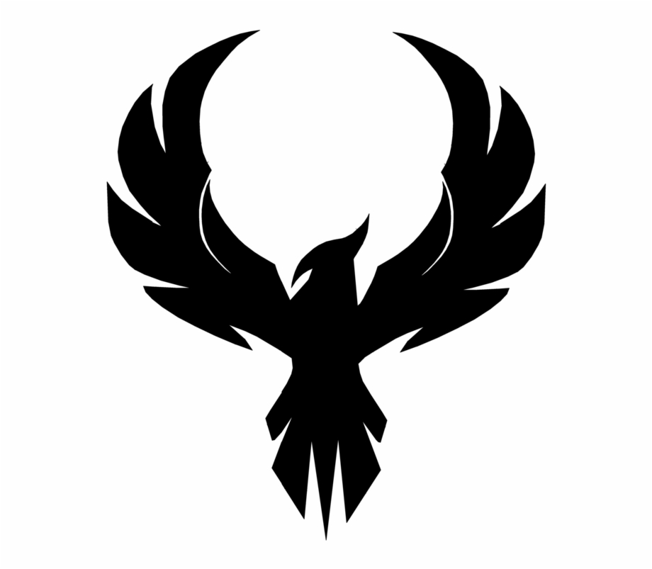 Phoenix clipart guy. Free black and white
