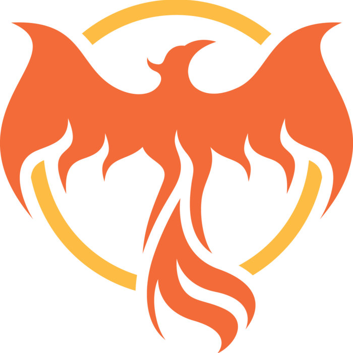 Free cool download clip. Phoenix clipart profile