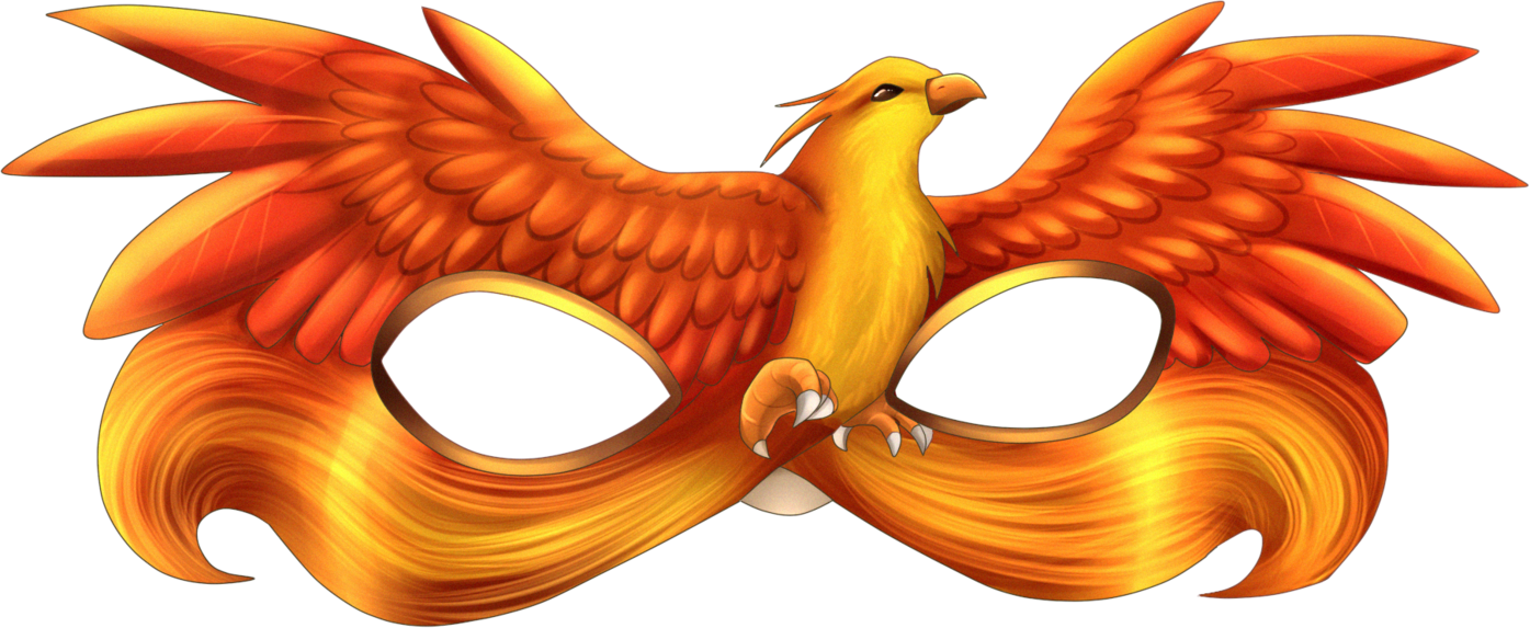 Phoenix clipart profile. Mask deviantart deviantid phoenixmask