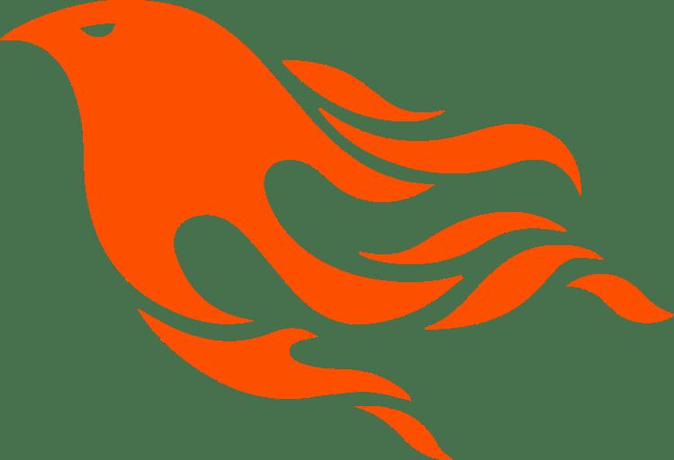 Phoenix clipart transparent background. Logo png stickpng