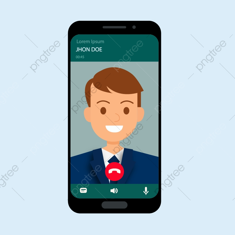 Call smartphone whatsapp chat. Phone clipart mobile calling