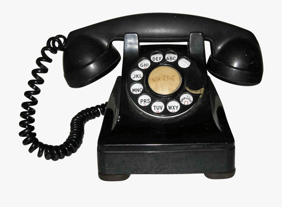 Phone clipart old fashioned phone. Download bakelite transparent png