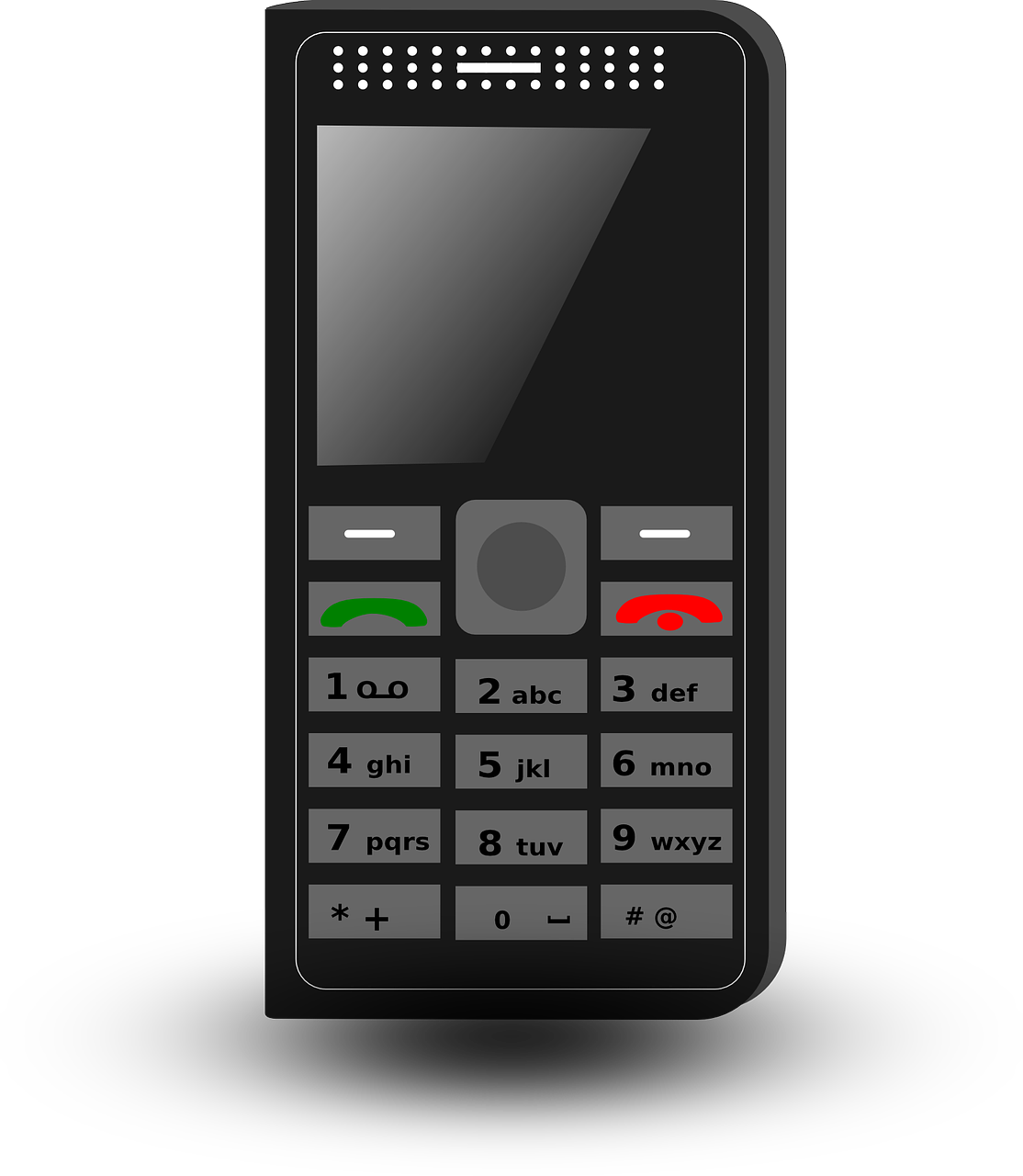 Phone clipart phone receiver. Old cell