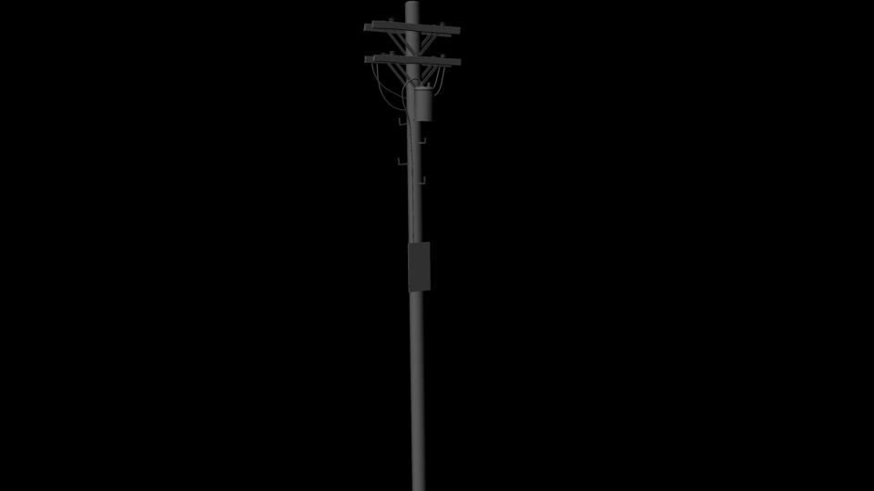 Telephone Pole Clipart