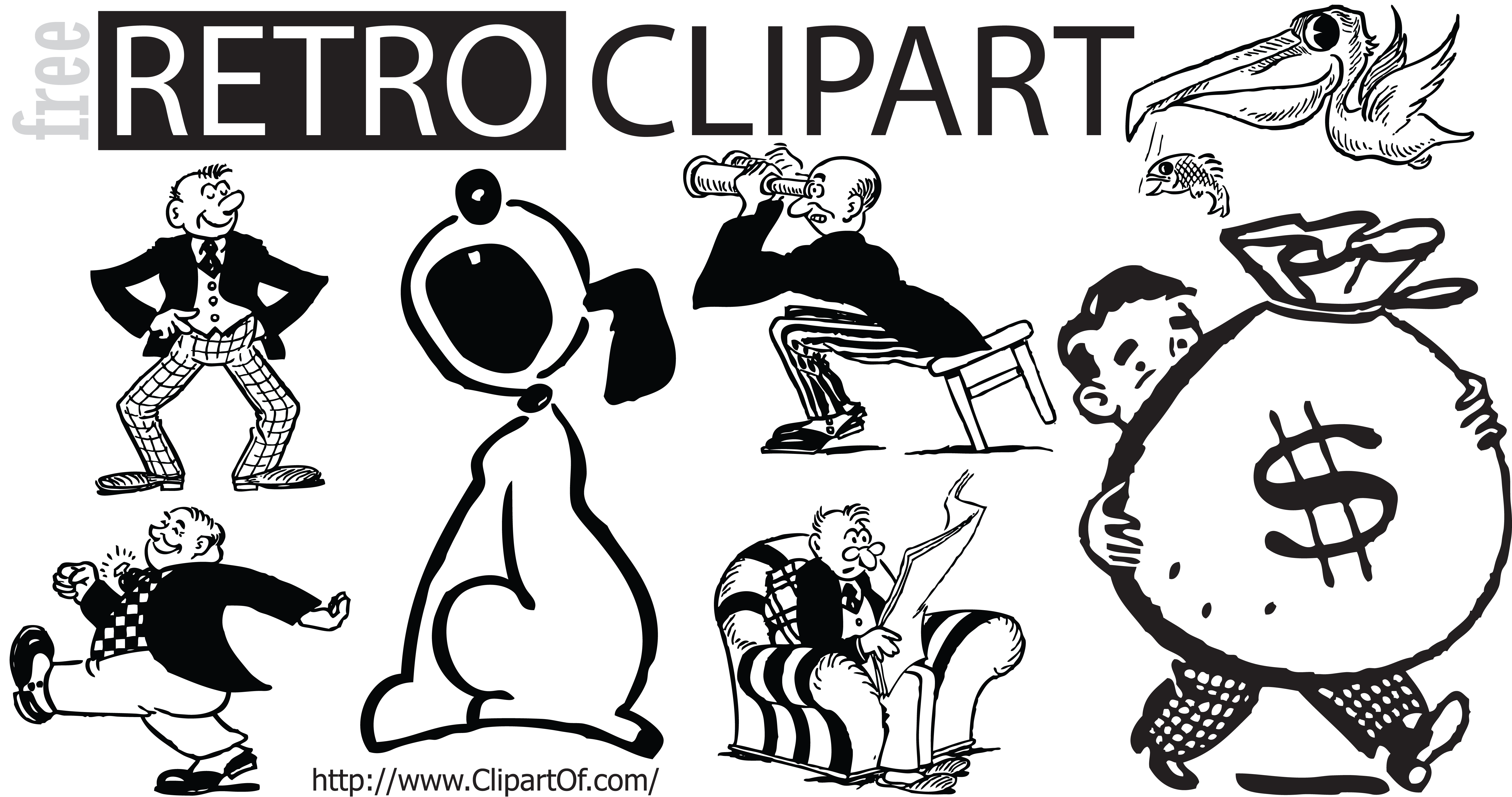 Graphics . Retro clipart rugby