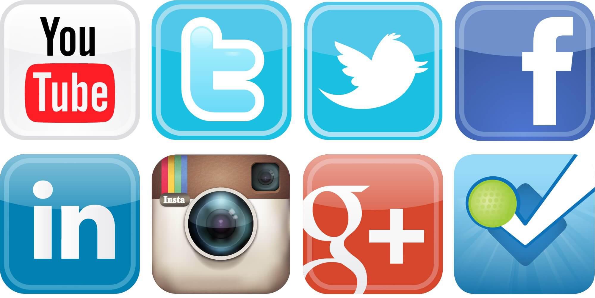 Logo png . Phone clipart social media
