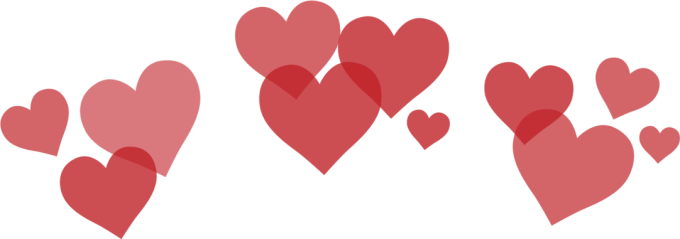 Picsart heart crown tutorial. Photo booth hearts png
