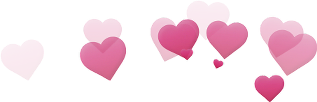 Photo booth hearts png. Tumblr pink photobooth filter