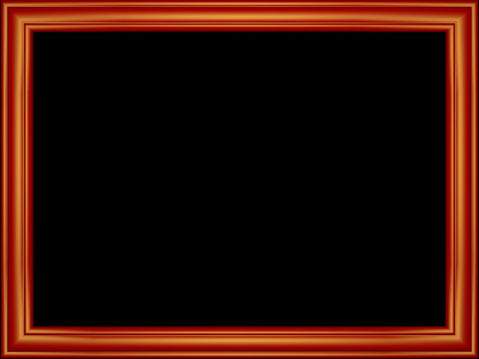 Red frame images transparent. Photo border png