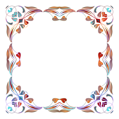 Photo border png. Download flowers borders free