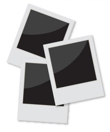 Photo clipart. Polaroid frame clip art