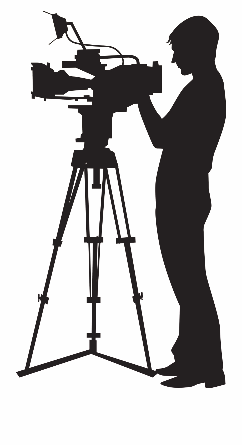 Video clipart video shooting. Camera operator clip art