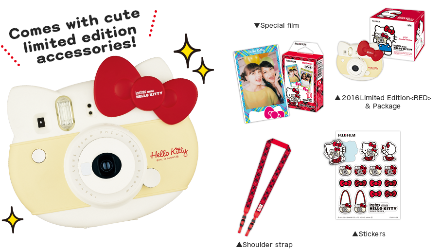 Photography clipart instax film. Too cute hello kitty