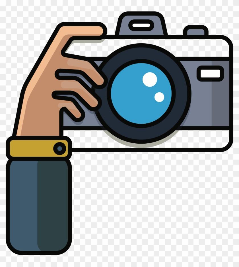 Kisspng photography camera lens. Photographer clipart camrea