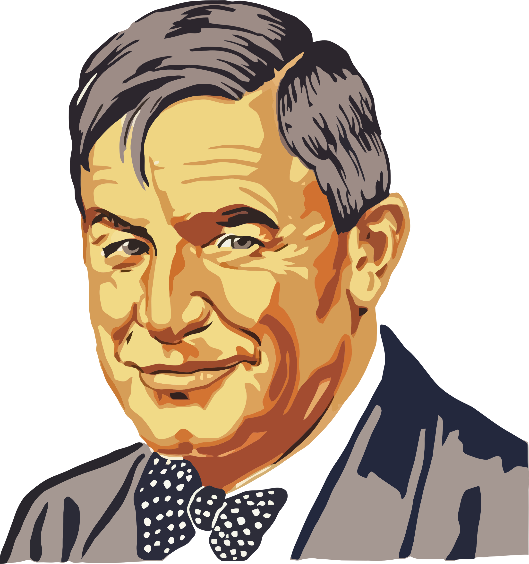 Photo clipart portrait. Vintage will rogers big