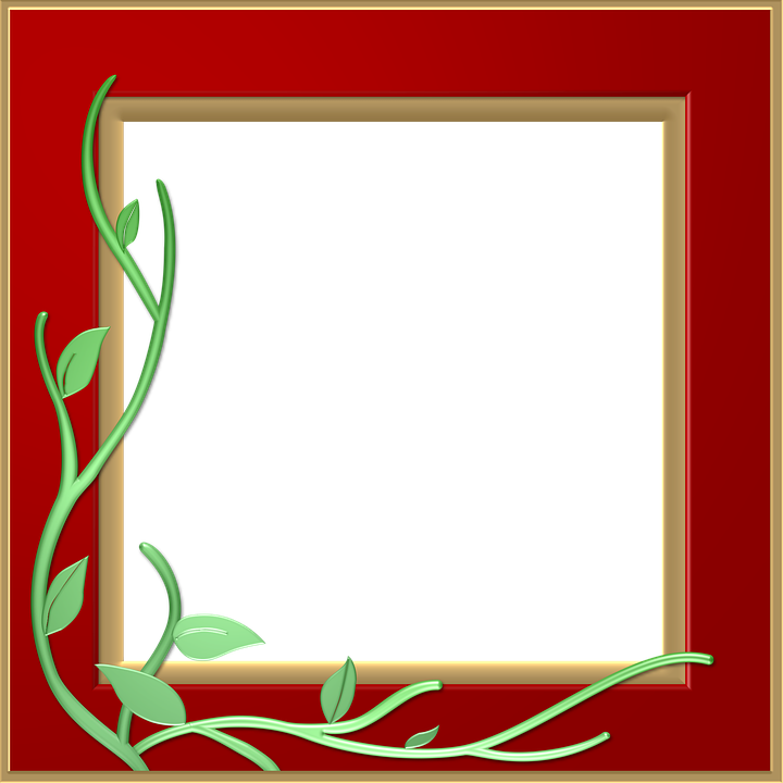 Red images transparent free. Photo frame png