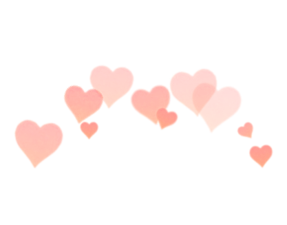 photobooth hearts png