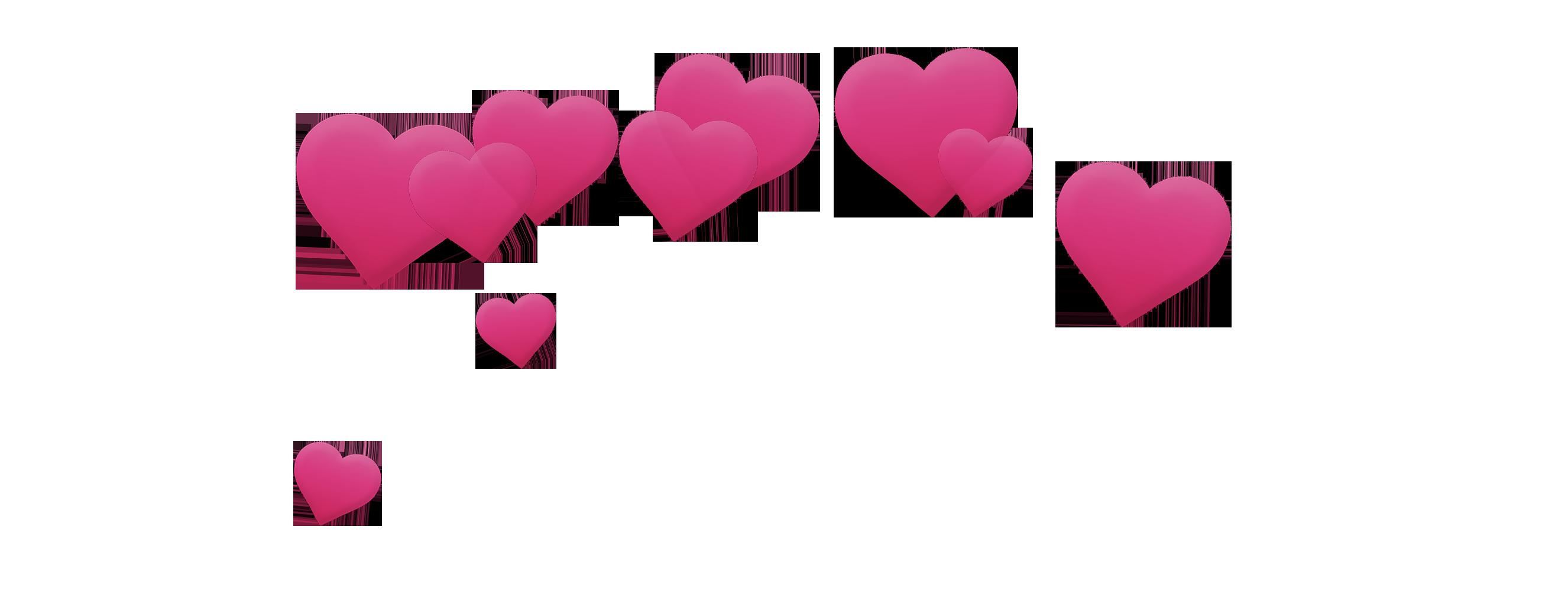 Heart picsart photo studio. Photobooth hearts png