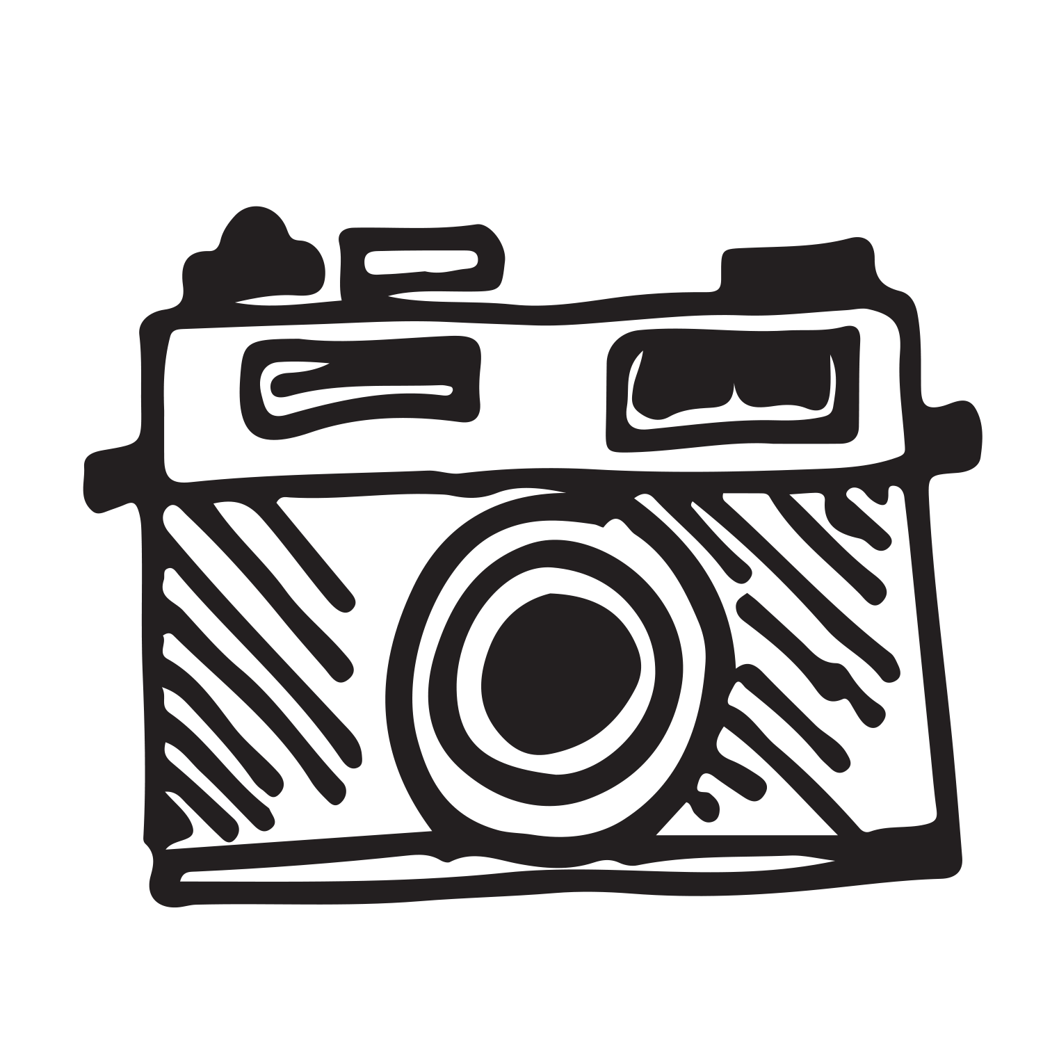 Photograph clipart color camera. The photographer finding light
