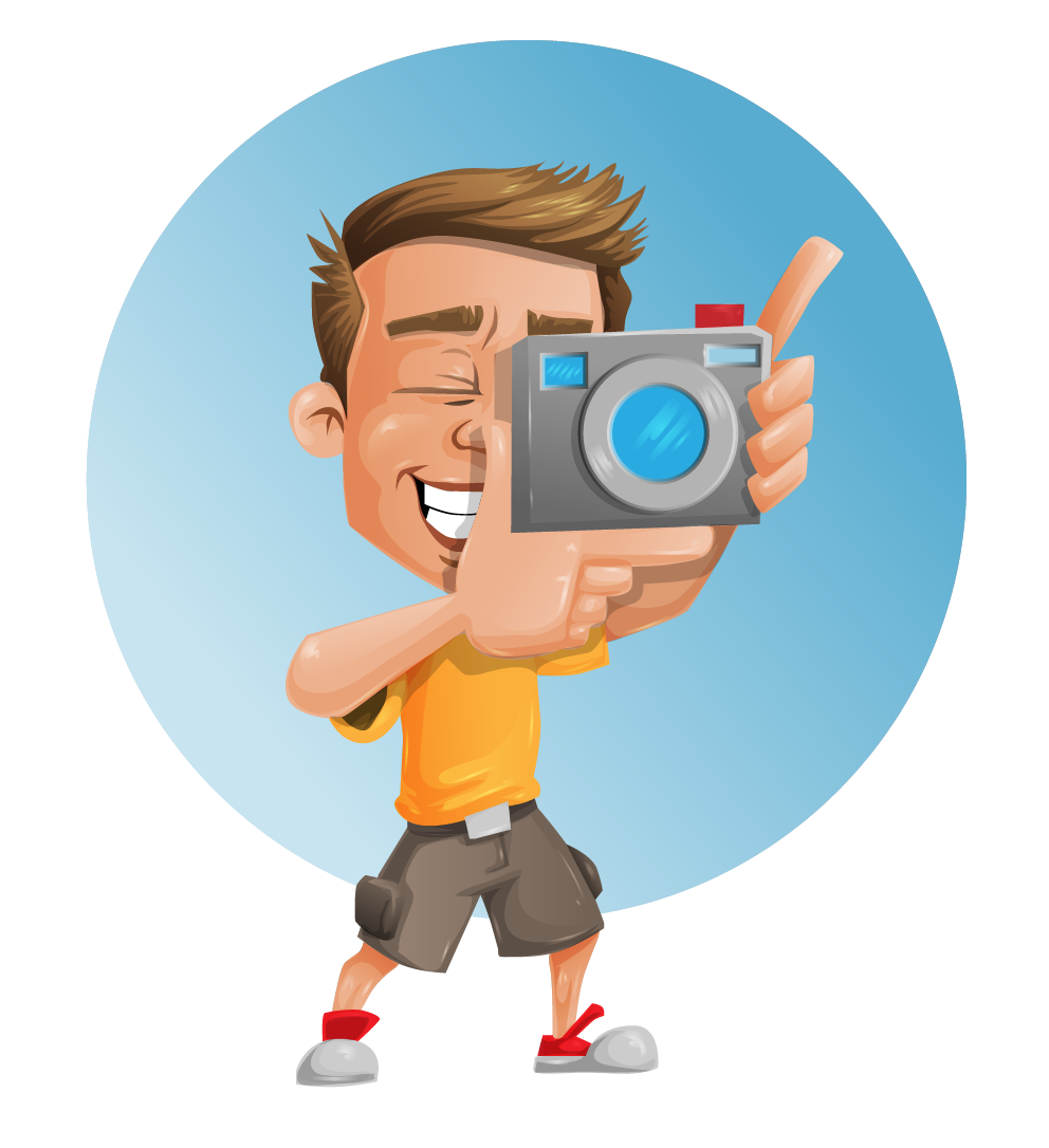 Photograph photojournalist frames illustrations. Photography clipart take